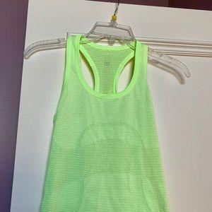 Lululemon neon tank